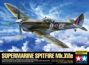 Tamiya 60321 British IIWW fighter Supermarine Spitfire Mk.XVIe