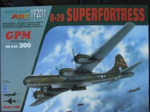 GPM-0200 	 B-29 SUPERFORTRESS