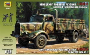 3596 Heavy German Cargo Truck L 4500 S