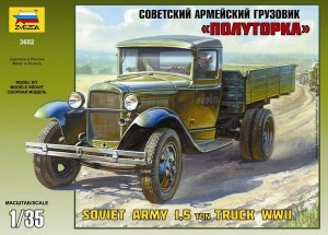 3602 GAZ-AA Soviet Light Truck WWII