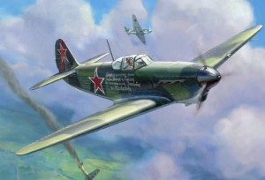 4817 Soviet fighter Yak-1b
