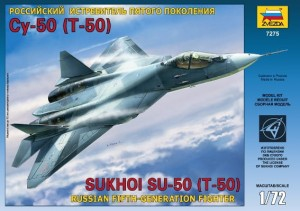 7275 Sukhoi T-50 Russian Stealth Fighter