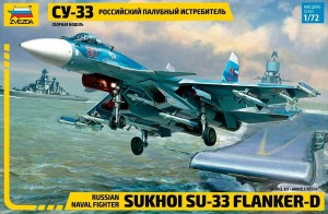 7297 Su-33 Russian Naval Fighter