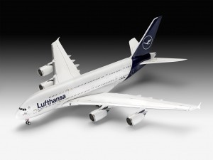 "NEW! Revell 03872 Airbus A380-800 Lufthansa ""New Livery"""