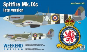 Spitfire Mk. IXc late version 1/72  7431