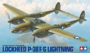 NEW! Tamiya 61120 Lockheed P-38 F/G Lightning