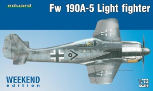 Eduard 7439 Fw 190A-5 Light Fighter (2 cannons)