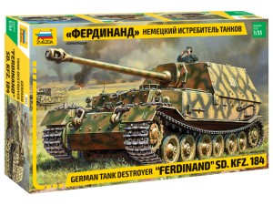 Ferdinand Sd.Kfz.184 German Tank Destroyer  3653