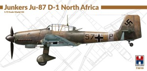 NEW! Hobby 2000 72019 Junkers Ju-87 D-1 North Africa