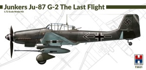 NEW! Hobby 2000 72021 Junkers Ju-87 G-2 The Last Flight