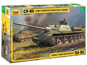 3690 Soviet Tank Destroyer SU-85