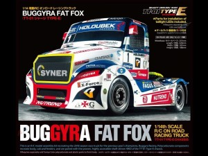 TT-01E Buggyra Fat Fox Racing Truck Tamiya 58661