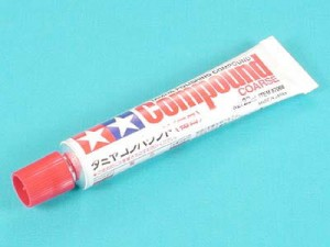 Tamiya 87068 Tamiya Polishing Compound coarse/Pasta do polerowania gruba/