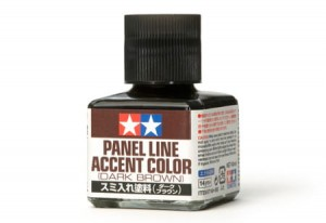 Panel Line Accent Color - Dark Brown 87140