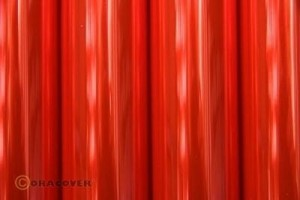 ORACOVER 60 cm  transparent fluor. red 1mb 21-026