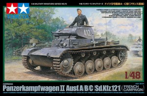 Tamiya 32570 German Panzer II A/B/C - French Campaign