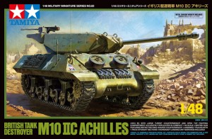 Tamiya 32582 BRITISH TANK DESTROYER M10 IIC ACHILLES