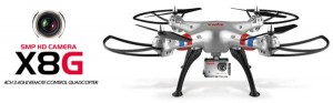 Syma X8G 2.4GHz (kamera HD 5MP, radio 2.4GHz, zasięg do 100m)